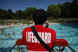 Red Cross lifeguard training